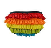 rainbow frilly knickers for women by knickerocker