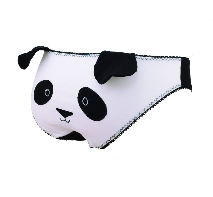 Panda Face Panties with Ears knickers cute underwear for women by knickerocker