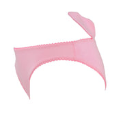 pink Pig Face knickers with Ears by knickerocker