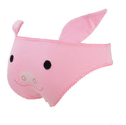 Pig Face Panties with Ears by knickerocker