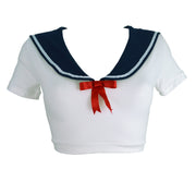 Sailor Moon Inspired Crop Top for women by knickerocker