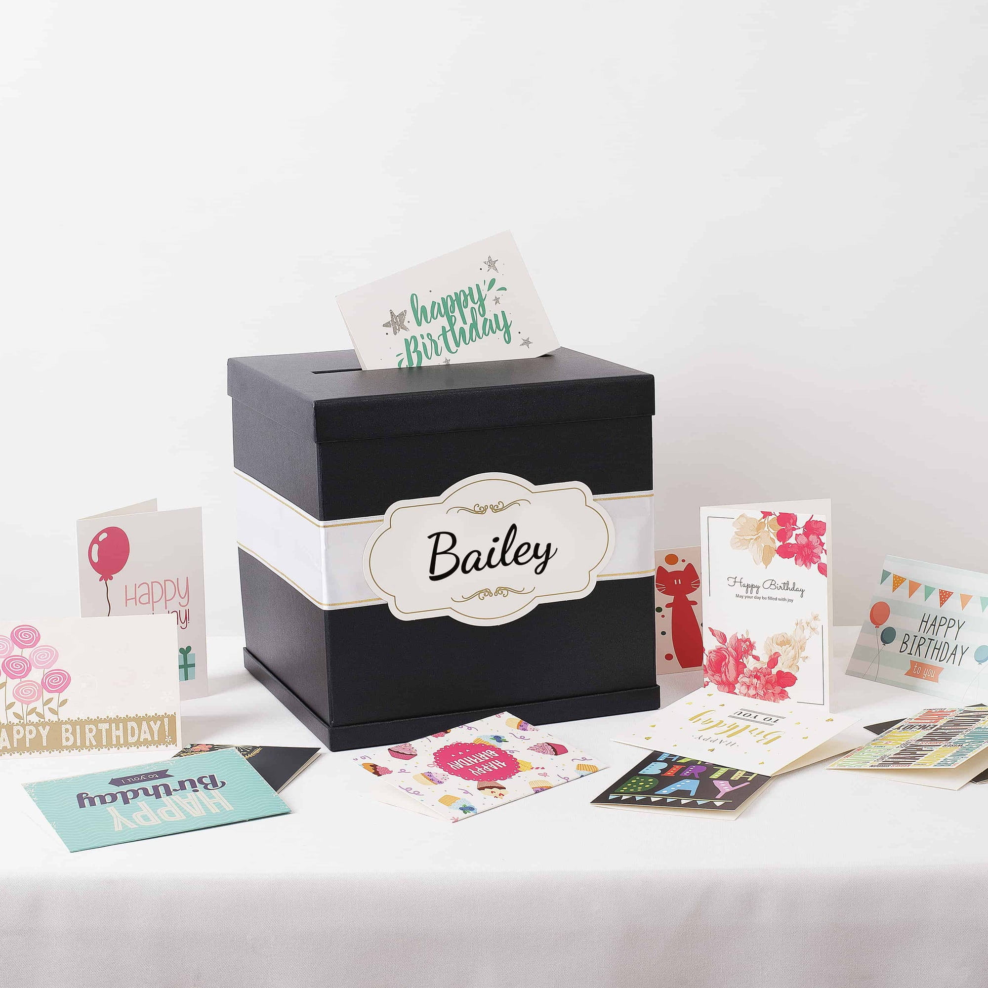 Personalized Card Boxes