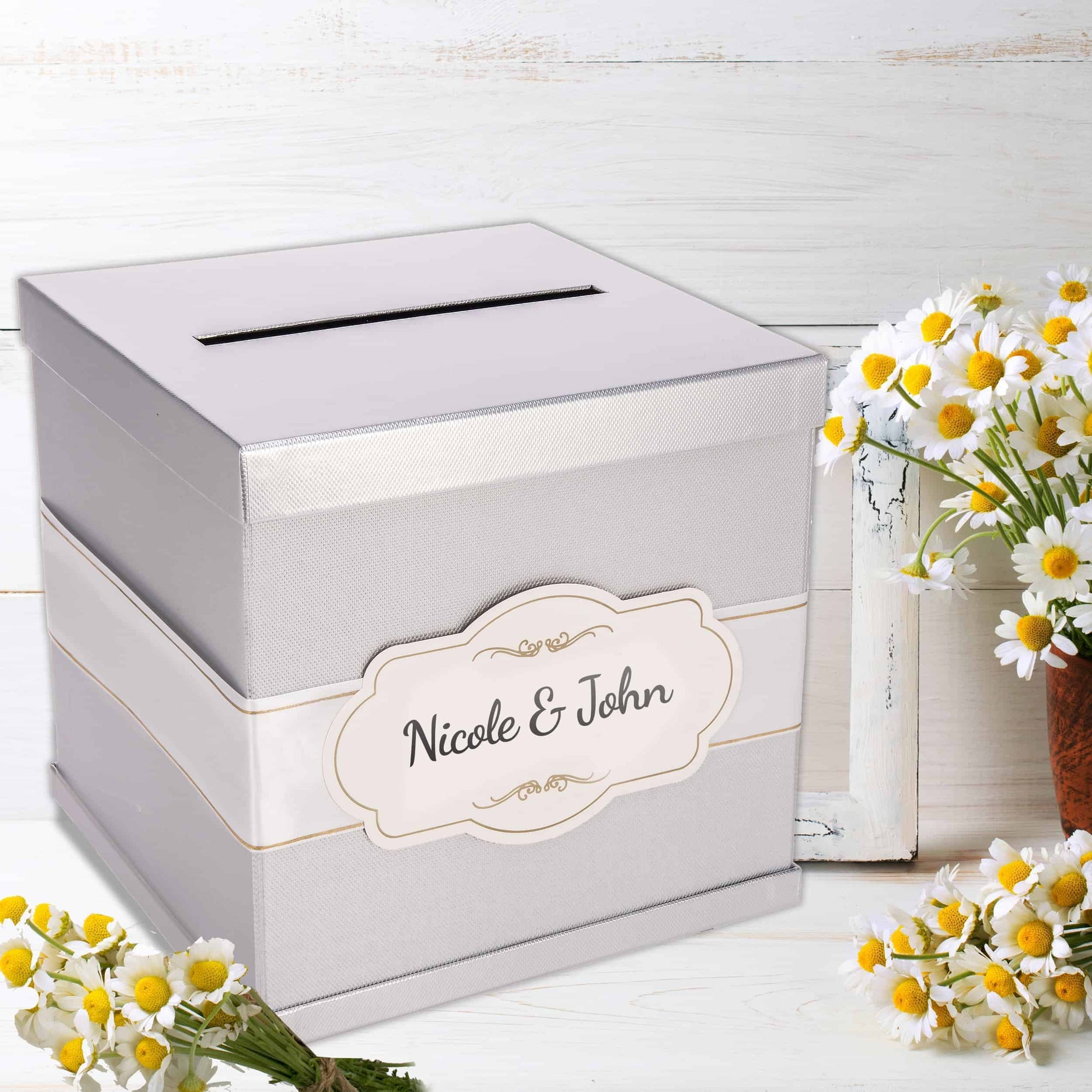 Personalized Premium Card Box - Merry Expressions