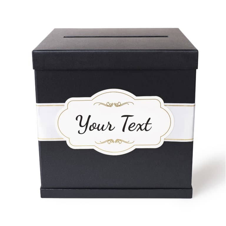 Luxury Gift Card Box