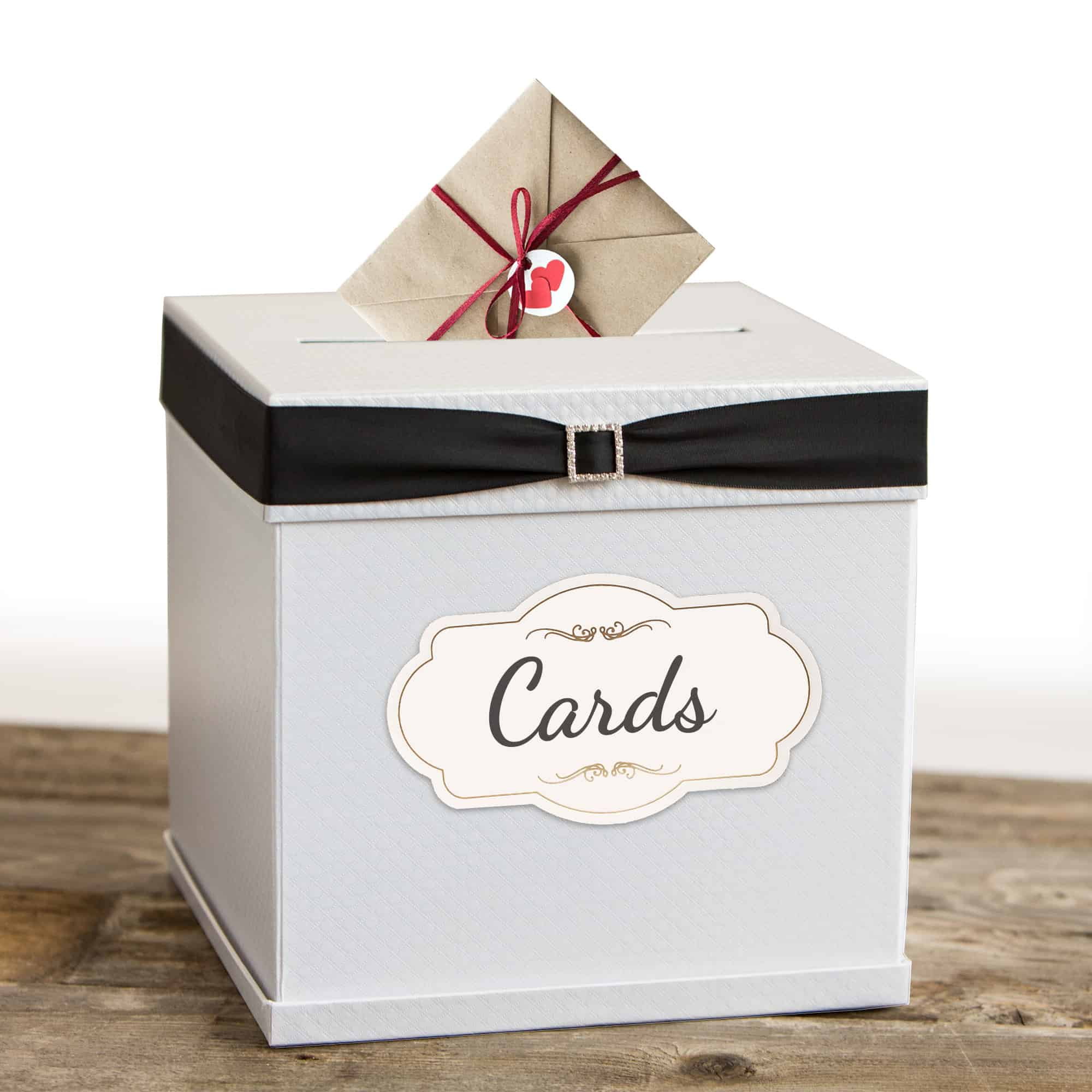 Card Box with 7 Ribbons