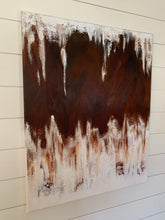 Load image into Gallery viewer, Original Abstract Painting, Large Contemporary Wall Art, Textured Canvas, White, Tan - Jamie Shook Fine Art