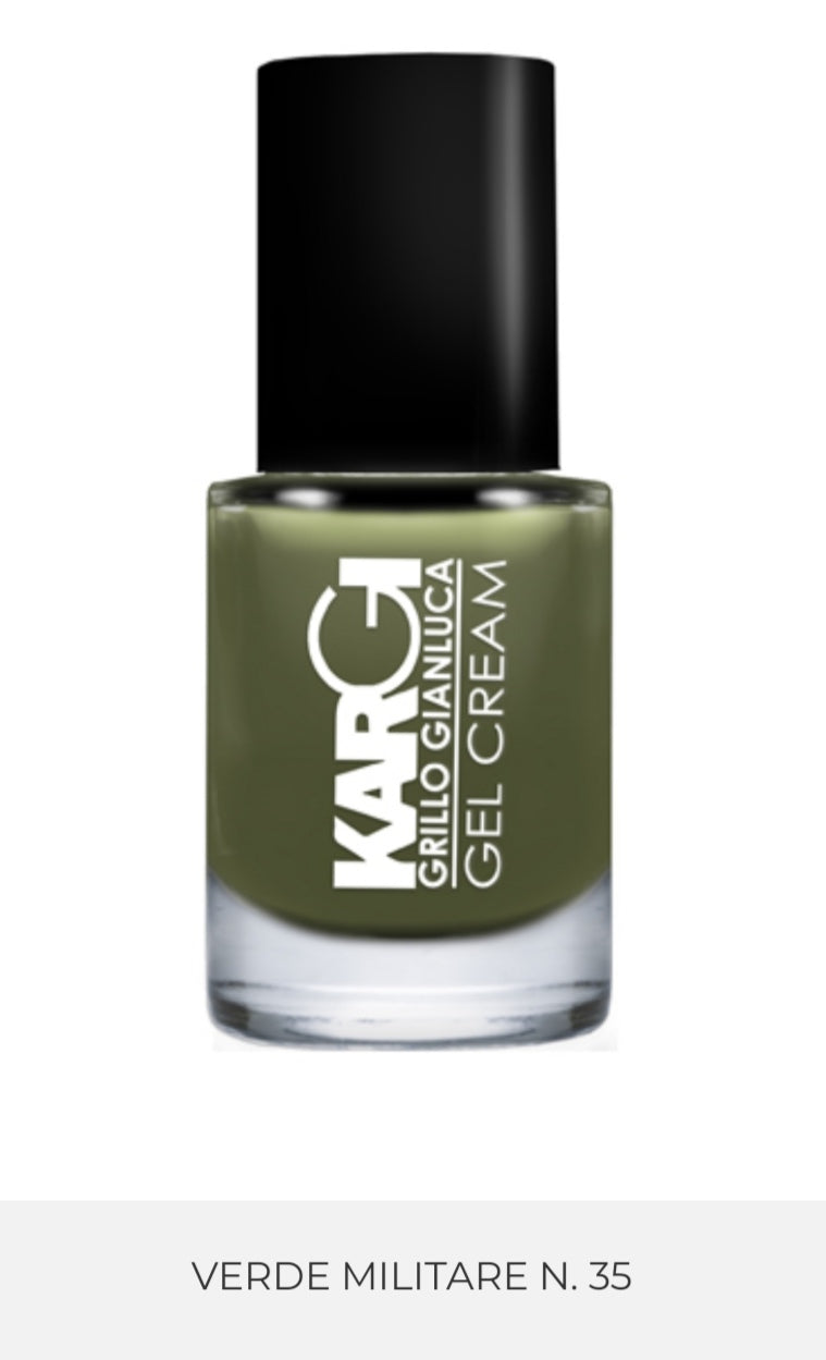 Smalto biologico verde militare