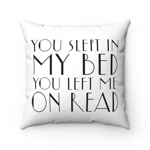 Messy Lyric Square Pillow