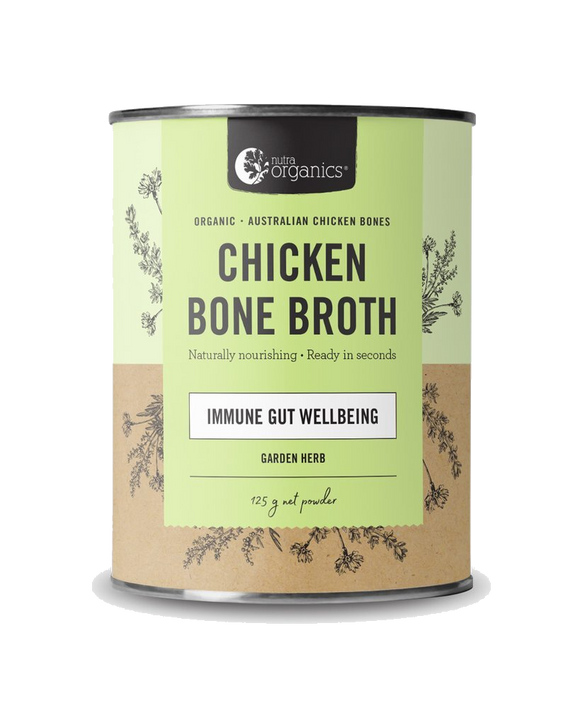 Chicken Bone Broth Garden Herb