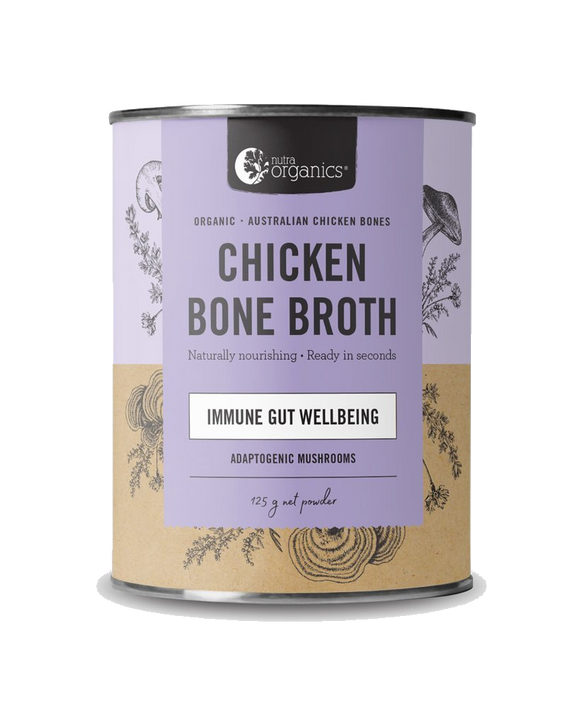 Chicken Bone Broth Homestyle Mushroom
