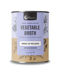 Vegetable Broth Mushroom Veggie