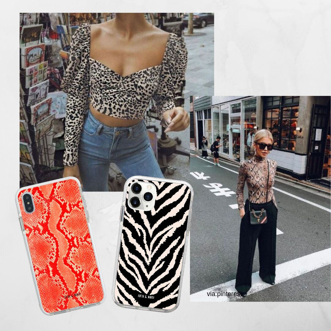 animal print outfits for school