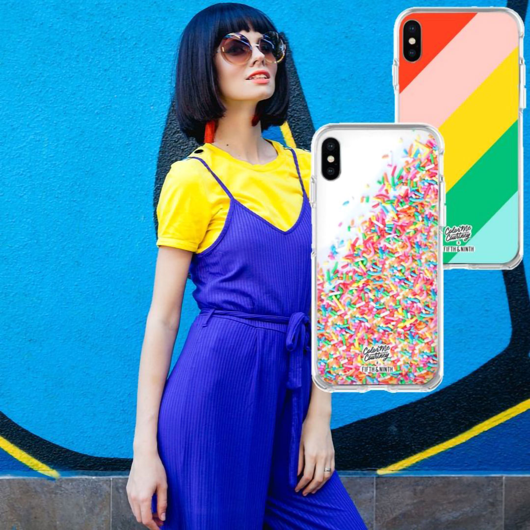colorful rainbow phone cases