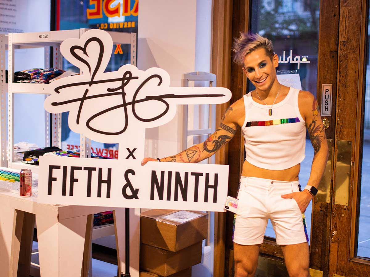 Frankie Grande in NYC