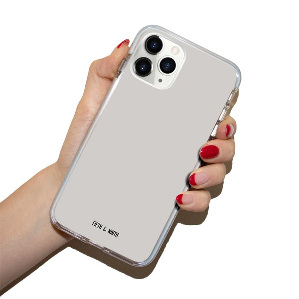 Bone light gray iPhone 11 Pro Case