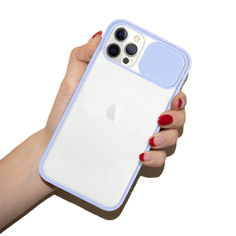 Sliding lens cover iPhone case