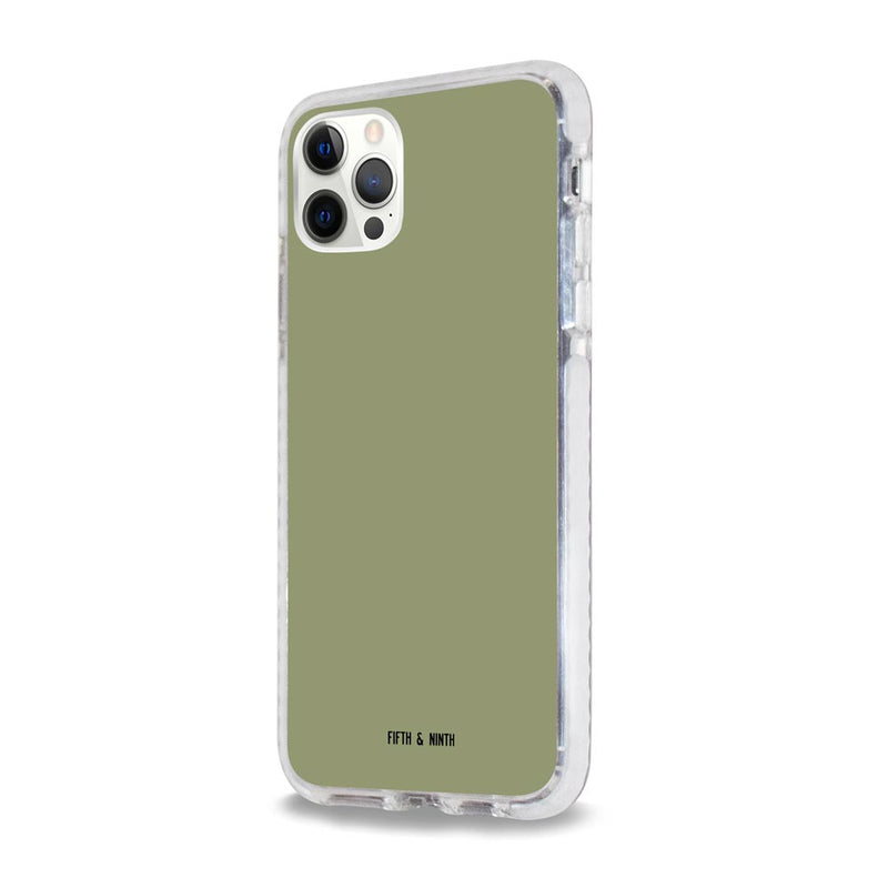 Mineral Sage Green iPhone case