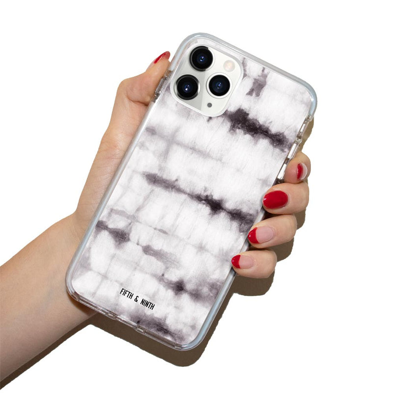 Noir Gray Tie Dye iPhone 11 Pro Case