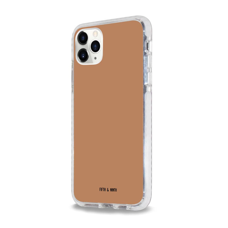 Terracotta brown iPhone 11 Pro case