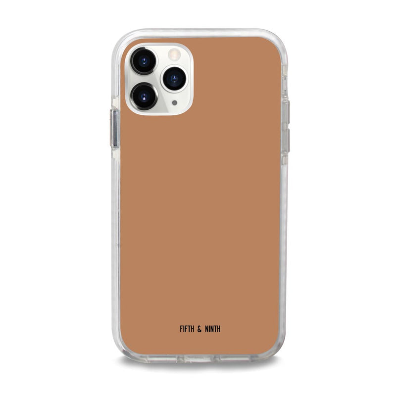 Terracotta Caramel Brown iPhone 11 Pro Max case