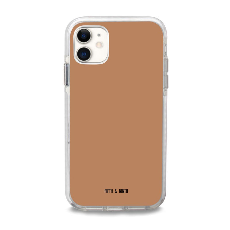 Fifth & Ninth Terracotta Brown iPhone 11 Case