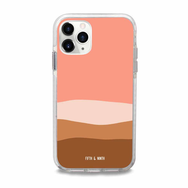 abstract desert iphone case
