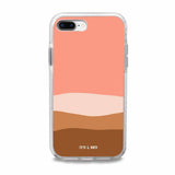 coral iphone plus case