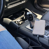 Luxurious Leather Wrapped Car Charger