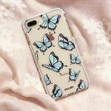 aesthetic butterfly phone case