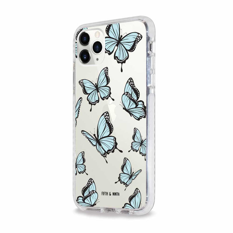 cute butterfly print phone case