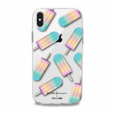 pastel popsicle iphone case