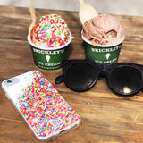 Sweet iPhone case with sprinkles