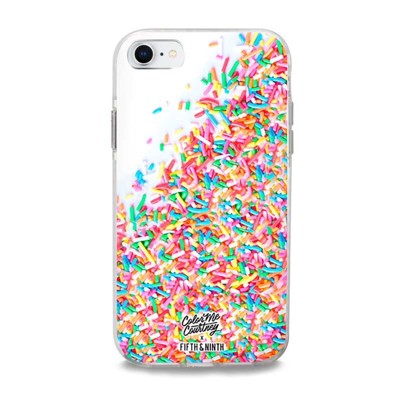 Cute color sprinkles iPhone case
