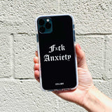 gothic anxiety phone case
