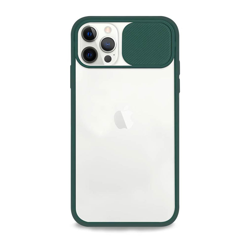 Green Sliding Camera iPhone Case
