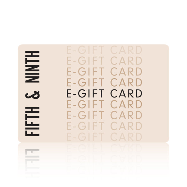 Fifth & Ninth E-Gift Card