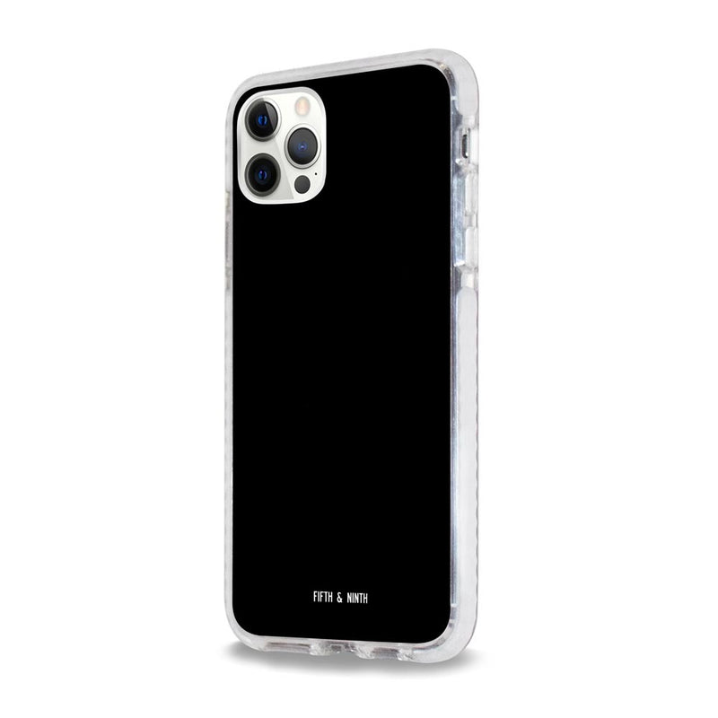 Jet Glossy Black iPhone 12 Case