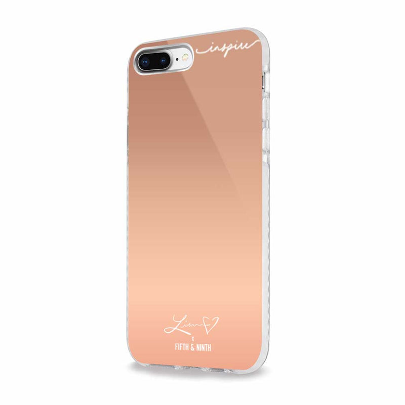 mirrored iphone case for makeup on the go