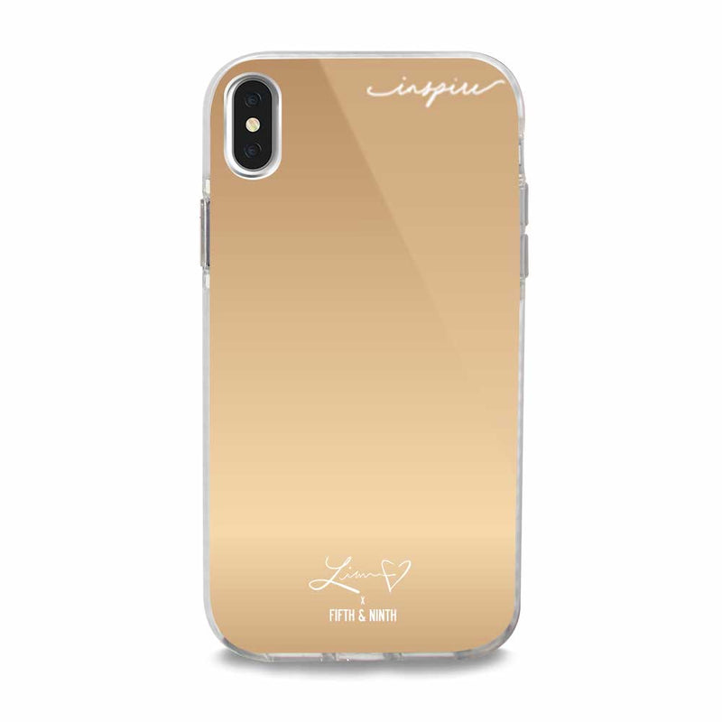 inspiring mirror iphone case