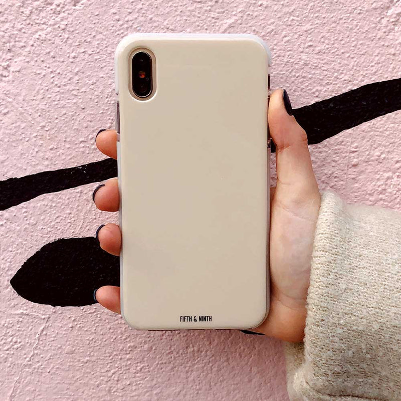 trendy neutral iphone case