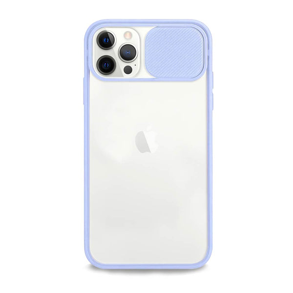 Lilac camera cover iPhone case