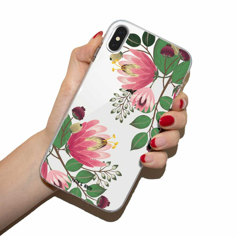 ophelia summer floral iphone case
