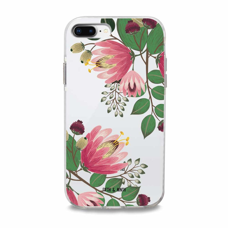 bold floral iphone case