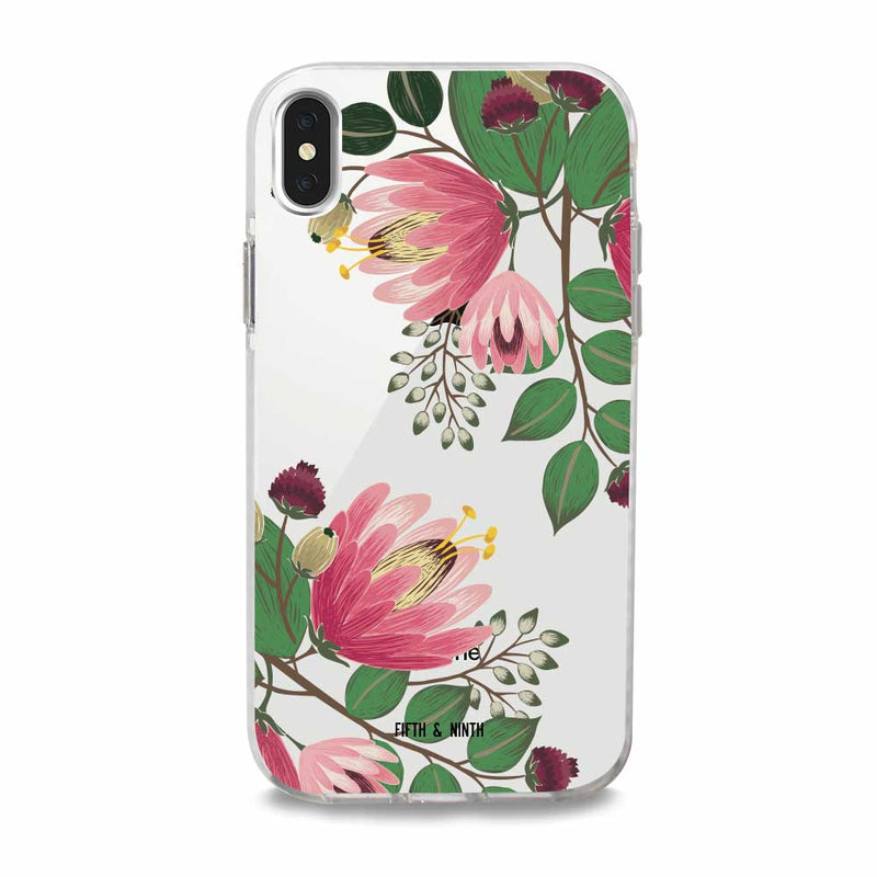 ophelia fall floral iphone case