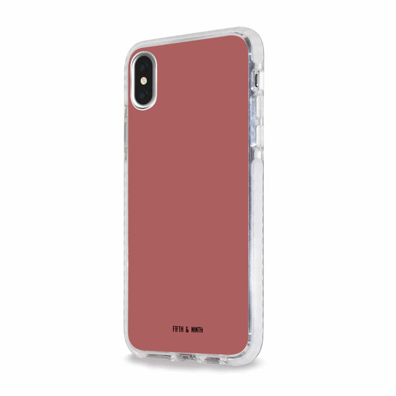 dusty pink iphone xs case