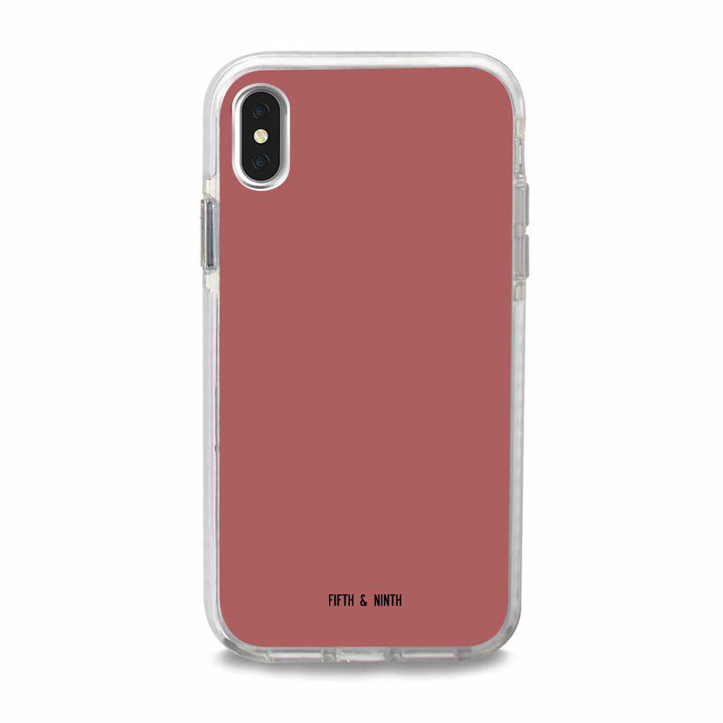 neutral pink iphone xs max case