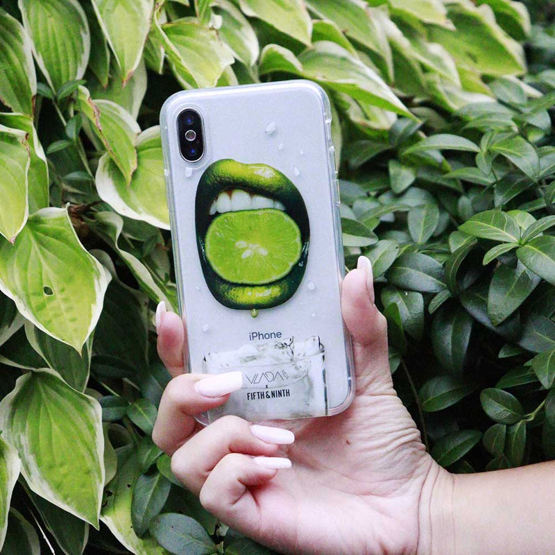 green lipstick iphone case