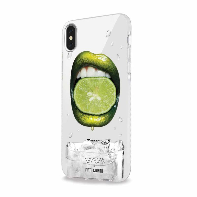 vladamua lime lip art iphone case