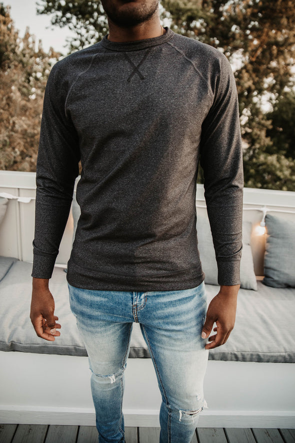 Minimalist Crew Neck Sweatshirt - Short Run