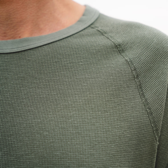 Hemp Thermal Raglan
